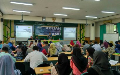 IKA Alumni TL menyelenggarakan Kuliah tamu