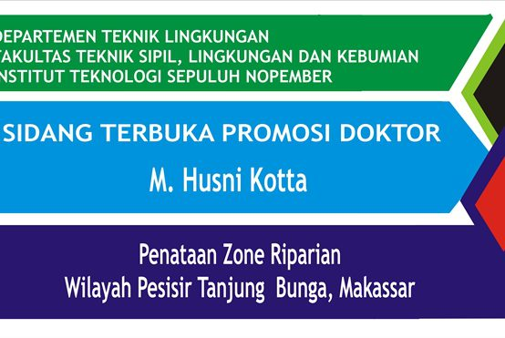 Sidang Terbuka Promosi Doktoral a.n M. Husni Kotta