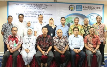 "FGD ITS – UNESCO IHE ""ALTWATER PROJECT"" Cluster Surabaya"