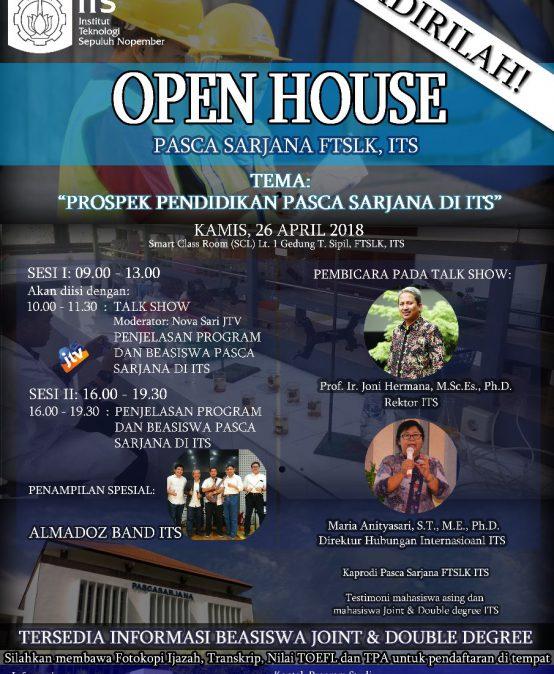Open House Pascasarjana FTSLK ITS