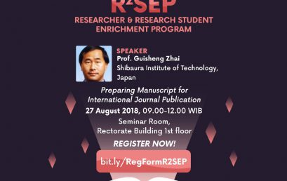 R2SEP-Researcher & Research Student Enrichment Program